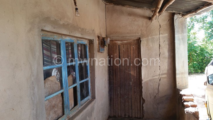 The house where the former Malawi Queens star is staying
