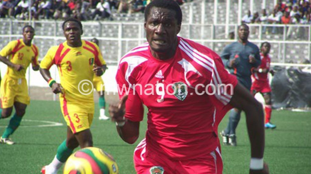 Malawi and Guinea in action in 2009 Afcon qualifiers