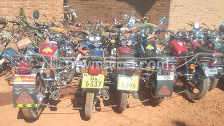 Motor cycle taxis have become widespread,especially in the  Northern and Central Region