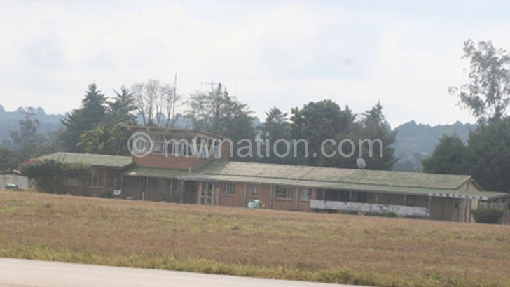 Will it be moved now?: Mzuzu Airport