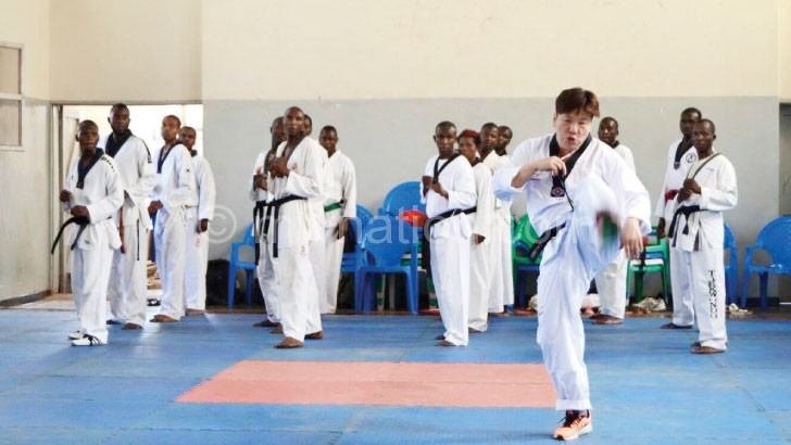Master Tae Sun Kwon (doing a demonstration) recommended Joseph  and Stain