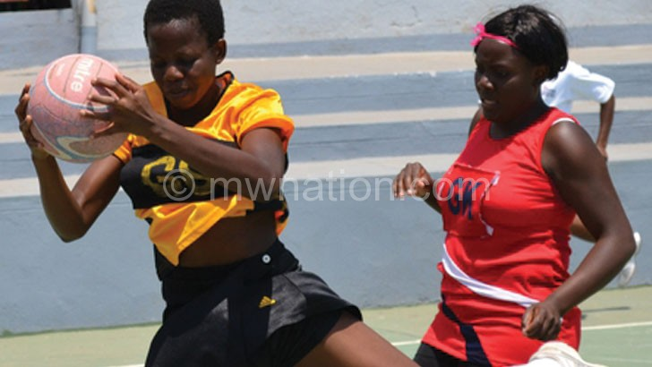 Under-21 product: Sindie Simtowe (L) in action