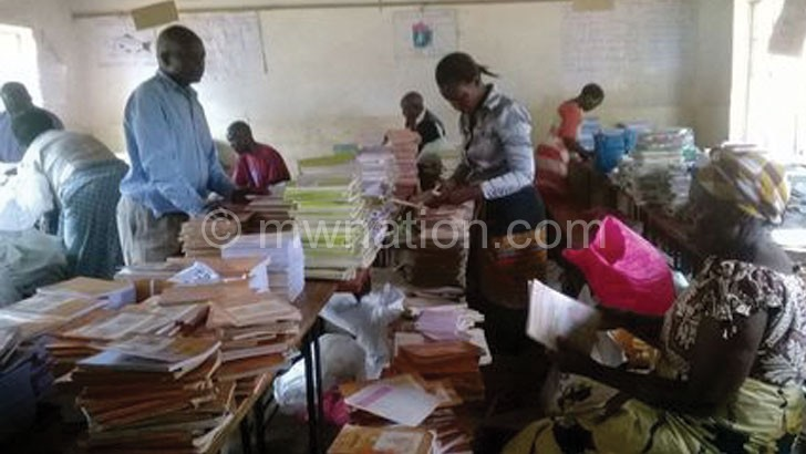 Trained members verifying available books