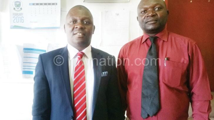 Partnership: Chigamula (L) and Banda