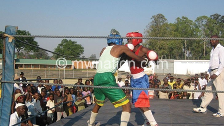 Amateur boxers like these will battle it out in Liwonde today
