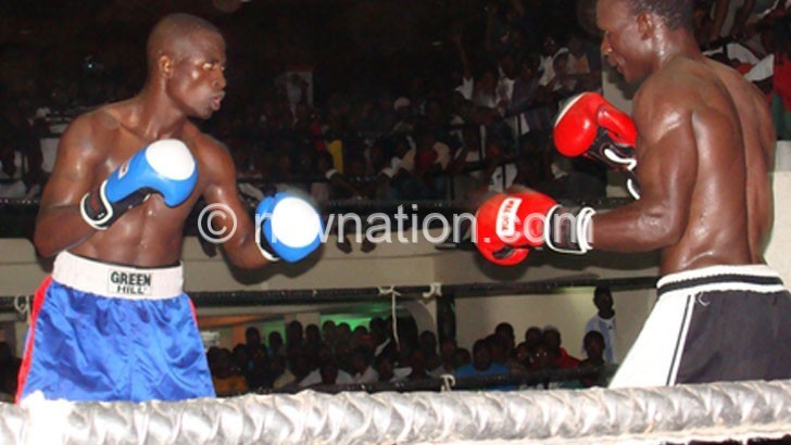 Masamba (L), Kayuni (R) and other MDF boxers will only  fight if insured by promoters