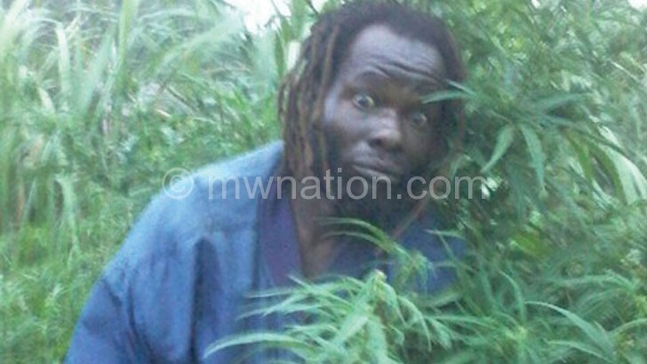 The suspect in the chamba field