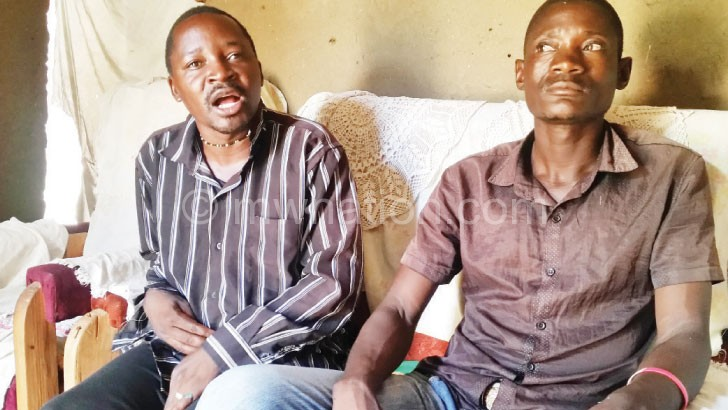 Daudi (L) Cries  wolf over  fishing rights