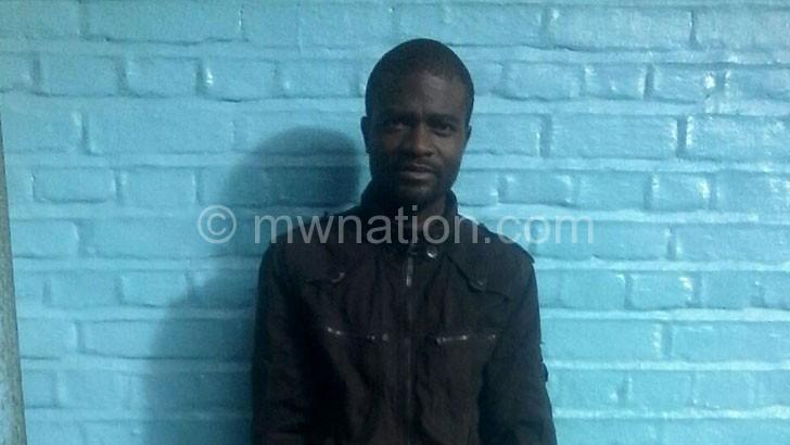 Gilbert Phiri is in police custody