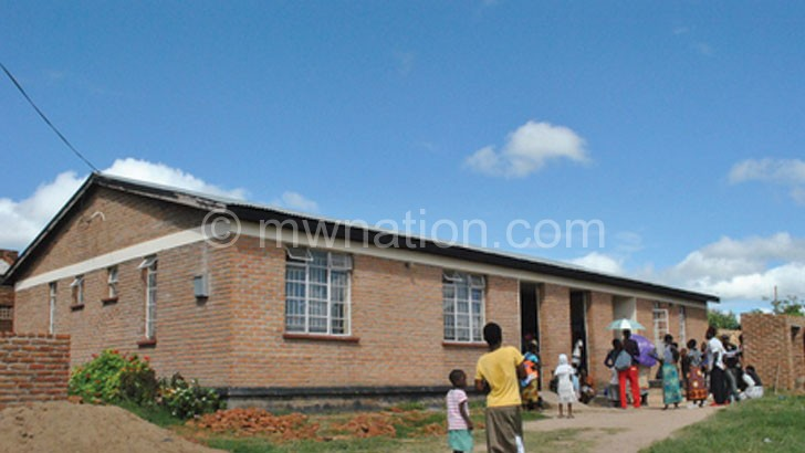 Service delivery at health centres such as this is negatively affected in Mzimba North