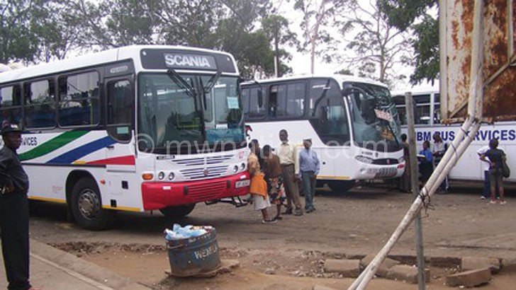 Dzombe takes over LL bus depot project