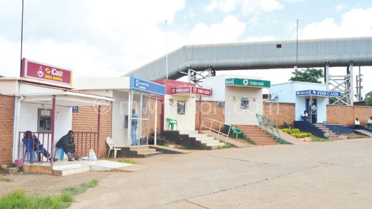 The auction floors ground has ATMs to ease access to tobacco proceeds