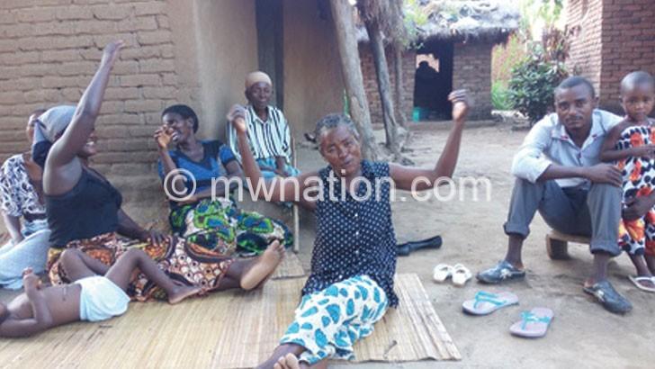 Mhango's household
