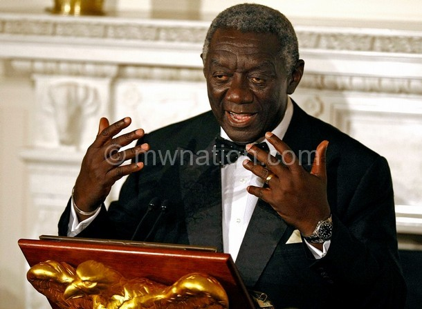 John Kufuor: Strong leadership can boost research
