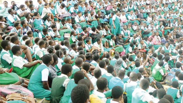 Pupils such as these will be affected if teachers go on strike on May 9