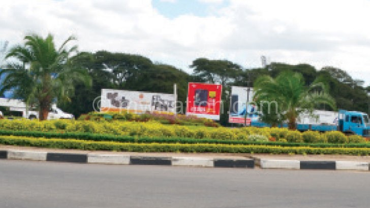 Blantyre roundabouts are looking good