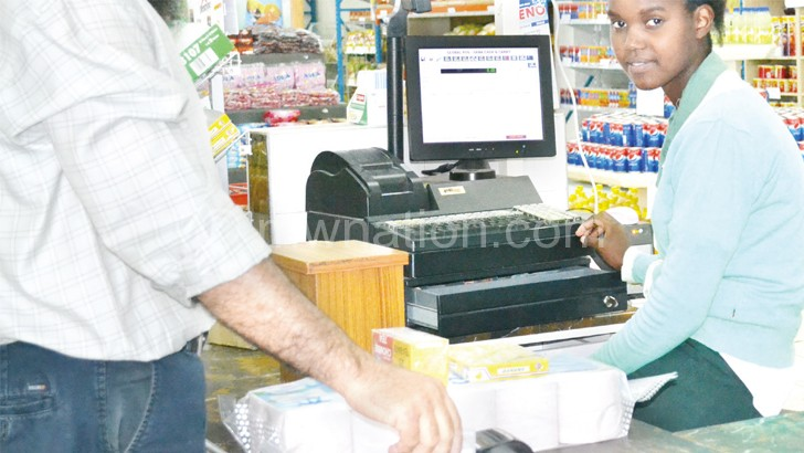 MRA collects taxes from supermarkets through EFDs for every payment made