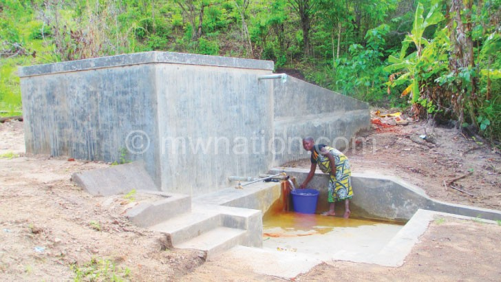 Potable water is not easily found in remote parts of the country