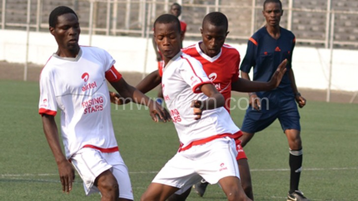Teams in action in previous Airtel Rising Stars finals