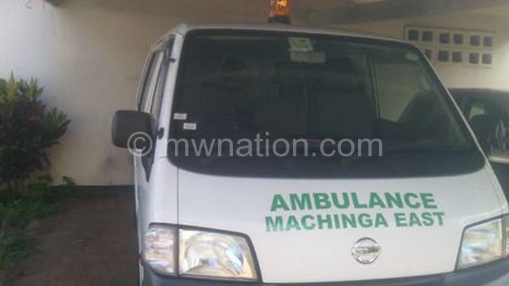 MP hailed for ambulance donation