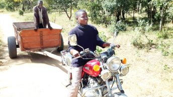 Innovating with a motorcycle