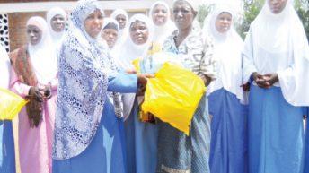 Muslim women call for sharing, hardworking spirits