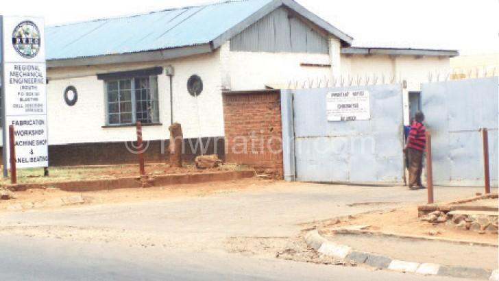 Now looks often deserted: PVHES regional office in Blantyre