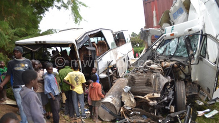 Road accidents can cost lives