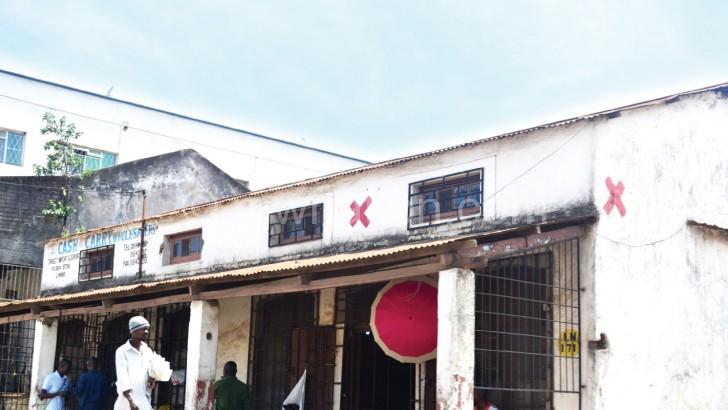 Most red star buildings are still standing  in Blantyre