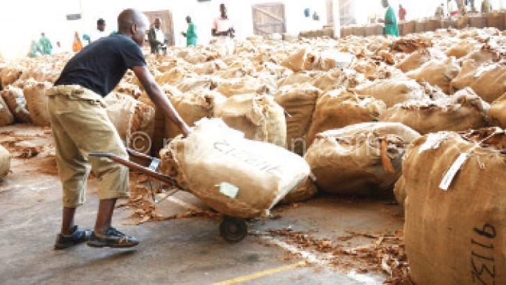 Growers have continued to complain about lower prices of tobacco
