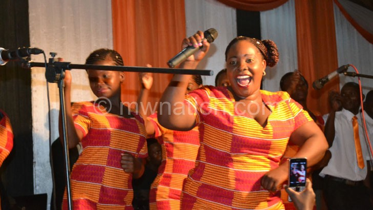 Amazing Joy Choir thrilled with  their performance