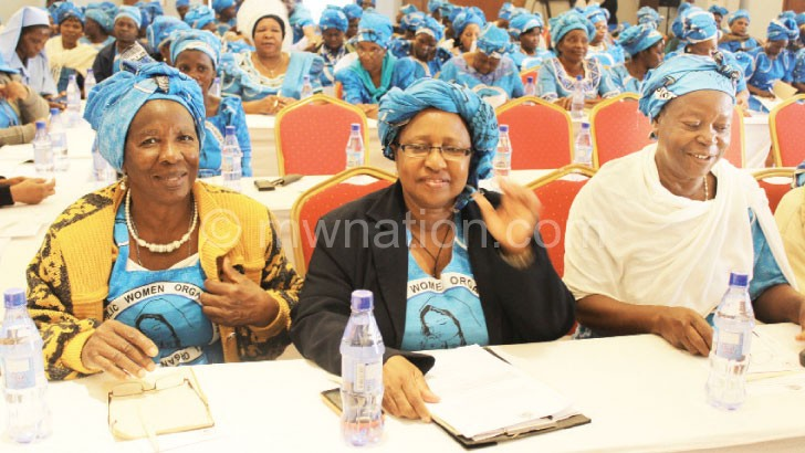A cross-section of the women captured during the conference