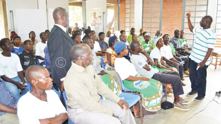 Community gatherings such as this help to raise awareness on issues