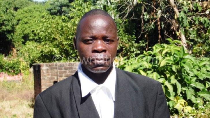Bemoaned lack of political will: Kondowe
