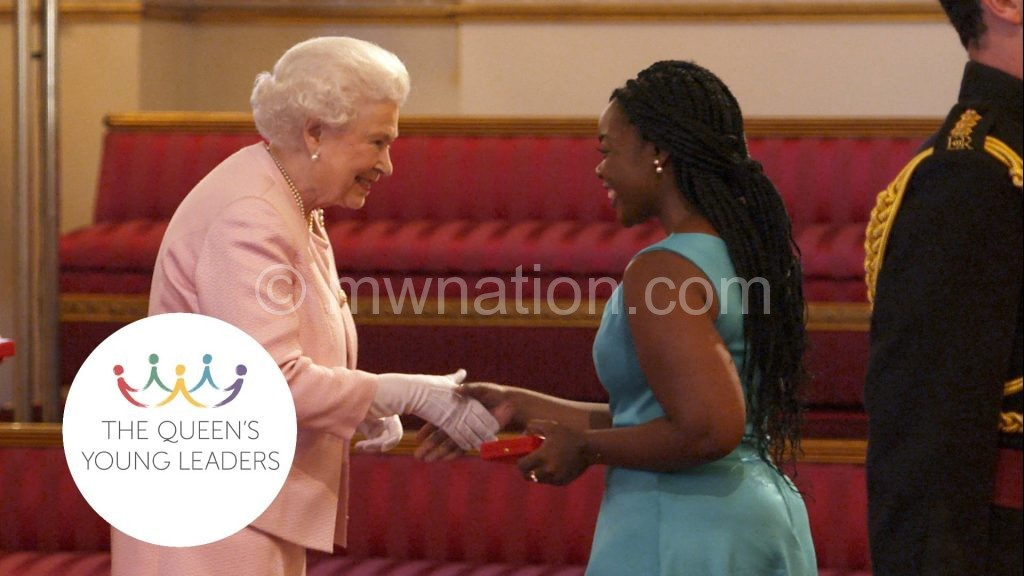 Queens Young Leaders award