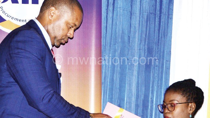 Chilima unveils the policy document