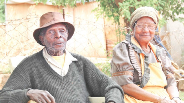 The elderly such as these are under pressure
