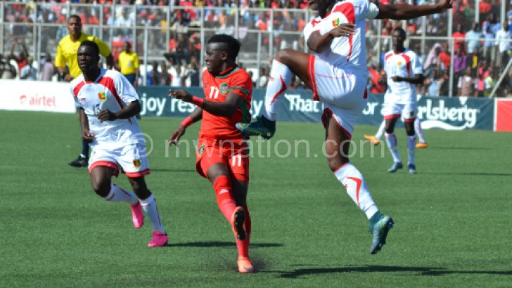 The Flames gave up lead to lose 2-1 against Guinea