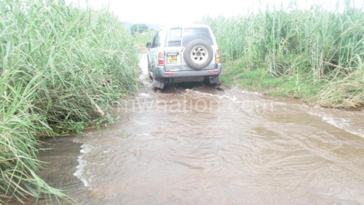 Part of the Lirangwe-Chingale-Machinga Road