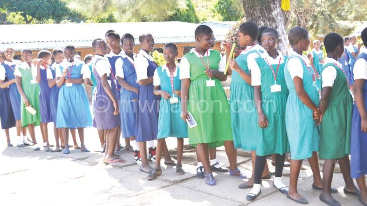 Lisap seeks to keep ore girls in school