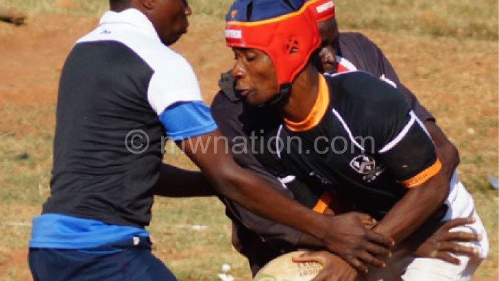 Rebirth: A local rugby match in action