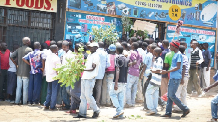 Shop workers striked over similar concerns in Limbe last year