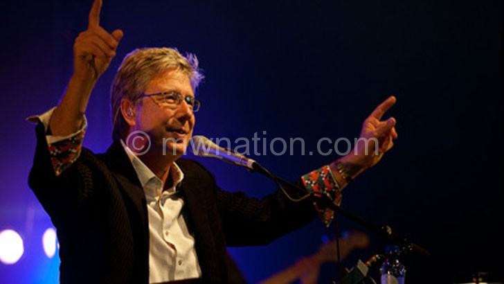 Don Moen will perform in Lilongwe next month