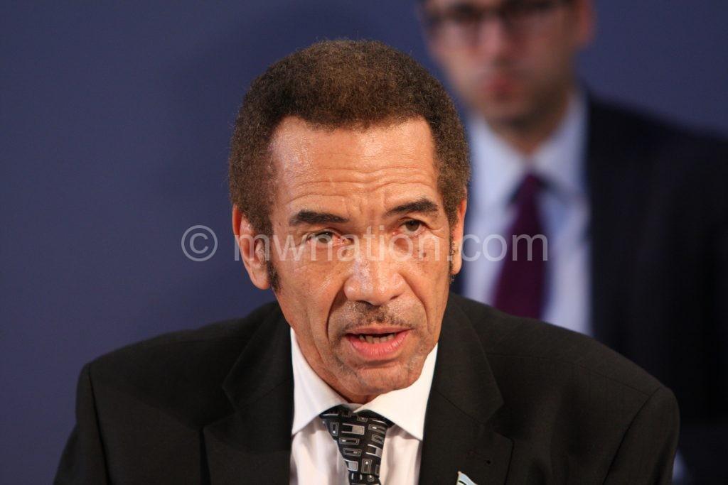 Khama: 40 million people need food