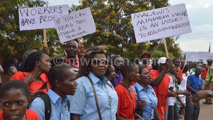 Workers celebrate International Labour Day