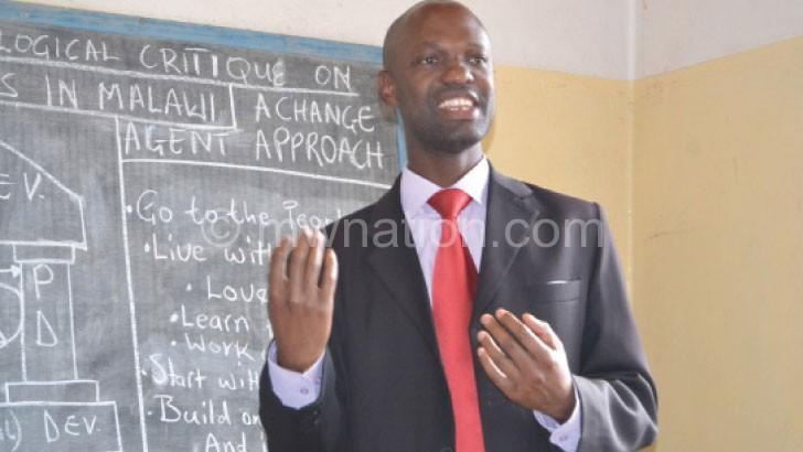 Leaving a happy man: Pastor Phiri