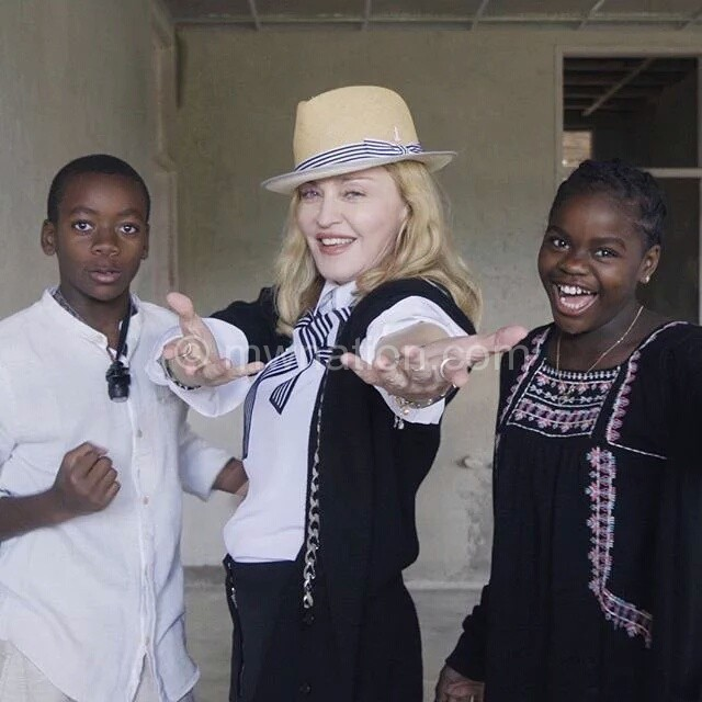 madonna and kids | The Nation Online