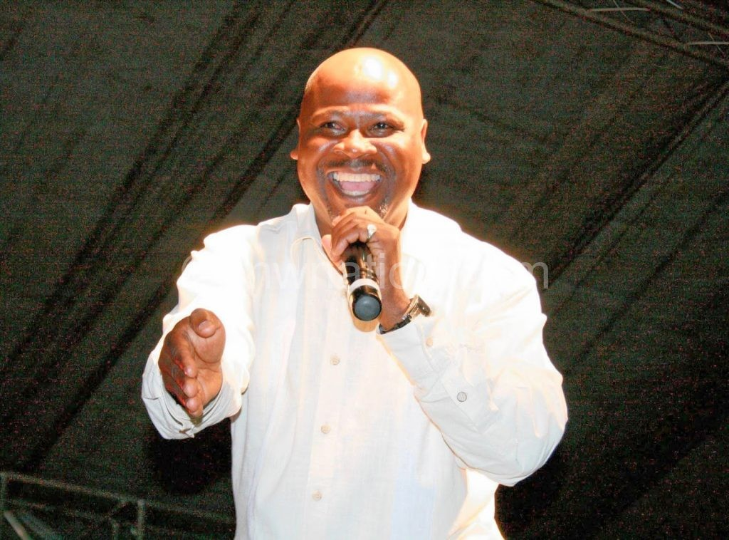 Touching down for the show two days earlier: Makhabane