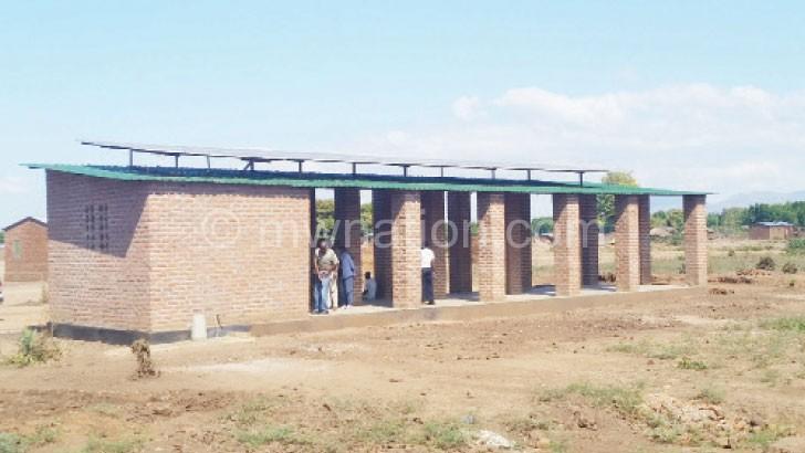 Part of the K45 million solar-powered irrigation scheme