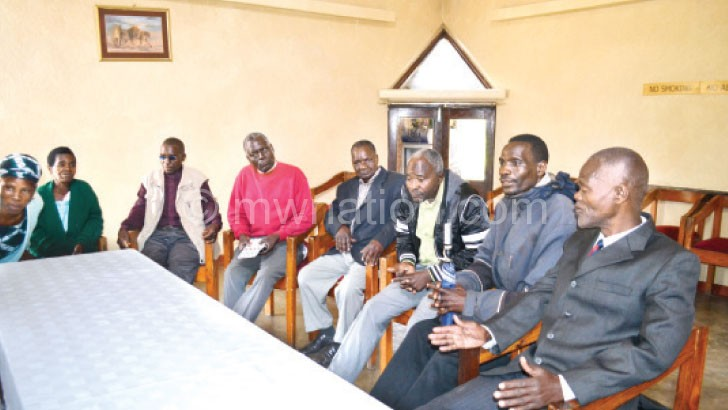 Flashback: Some of the Southern Region MCP leaders who are against Chakwera's leadership style